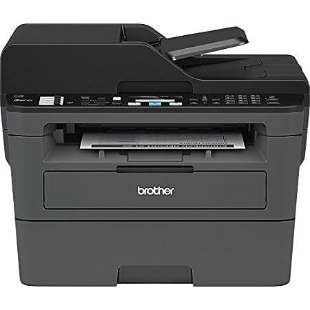 Brother mfcl2710dw Impresora multifunción láser 4 en 1 Monocromo A 30 ppm con Red precableado, WiFi, Duplex de impresión, ADF de 50 Hojas y Pantalla LCD