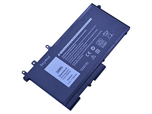 Replacement Beyond Battery for DELL M3520 M3530, DELL E5580 E5480 E5280, GJKNX 3DDDG.