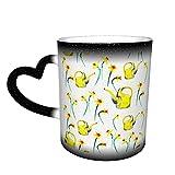 Acquerello Primavera Floreale Narciso Modello Tazze di Caffè Tazza di Ceramica Regali Personalizzati per gli Amanti della Famiglia