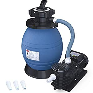 🏊5-WAY VALVE POOL PUMP. 5-function control valves designed to meet different filtration needs, allowing the pool owner to filter, backwash, rinse, waste, and closed. (A strainer basket is also included for pre-filtering. )Low noise design makes your ...