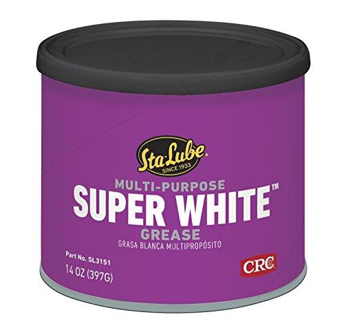 Sta-Lube SL3151 Super White Multi-Purpose Lithium Grease - 14 wt. oz.