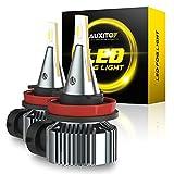 AUXITO H8 H11 H16 LED Fog Light Bulb, 6500K...