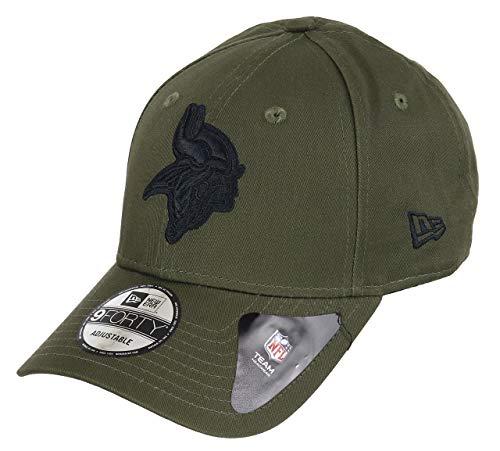 New Era Minnesota Vikings 9forty Adjustable Cap NFL Olive Pack Olive - One-Size