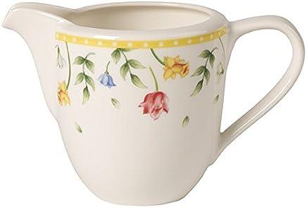 Preisvergleich für Villeroy & Boch Spring Awakening Milchkännchen, Premium Porzellan, Gelb/Bunt