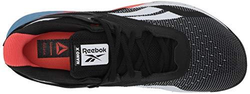 Reebok Men's Nano X Cross Trainer, White, 9 M US