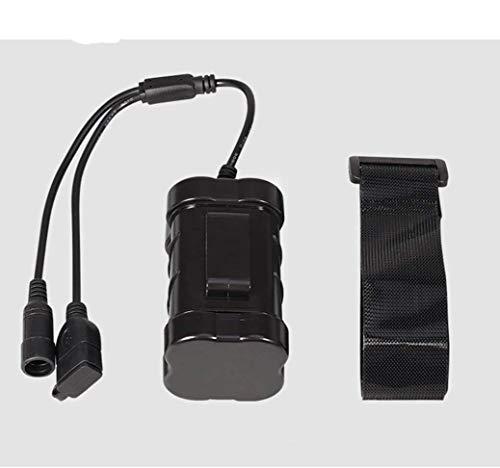 MianBaoShu-wasserdichte Batterien 10400mAh / 8,4 V Wasserdichter Akku für LED-Fahrradlicht/Scheinwerfer (x2 x3 CREE XM-L T6 Licht) USB + DC Zwei Ausgangsschnittstellen