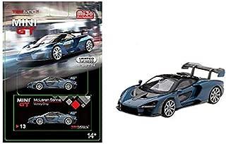 New DIECAST Toys CAR MINI GT 1:64 MCLAREN Senna (Victory Grey) MGT00013-MJ