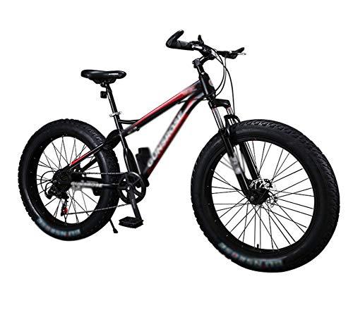 Amhuui Motorslee voor volwassenen, 24 inch (61 cm) mountainbike upgrade-high carbon stalen frame, aluminiumlegering…