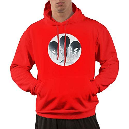 Tengyuntong Hombre Sudaderas con Capucha, Sudaderas, Men's Pullover Hooded Sweatshirt - Dark Story