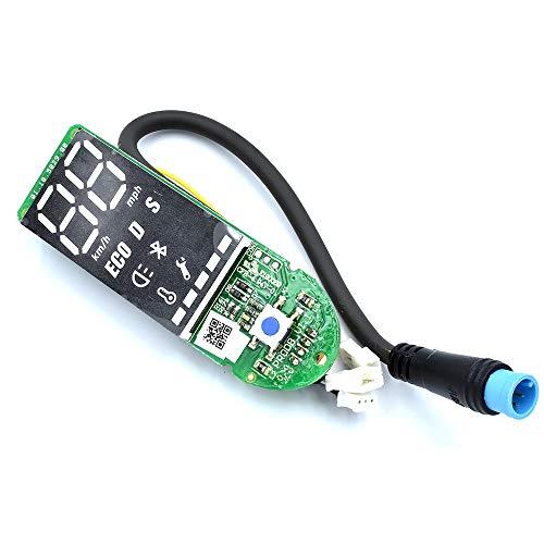myBESTscooter - Pantalla LED de Panel de Control BLE para los Modelos M365, 1S, Essential, Pro del Patinete eléctrico Xiaomi