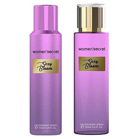 Women's secret Sexy Bloom Combo of Body Mist and Deodorant for Women, Pack of 2