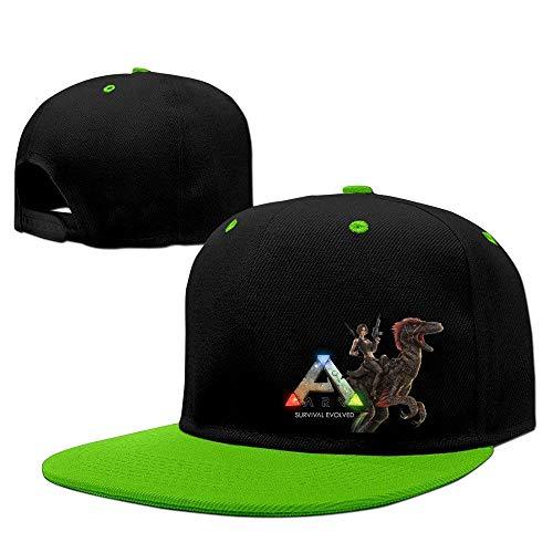 Adjustable Kids Sun Hat Cool ARK Survival Evolved Snapback Flatbrim Sun Hats Hip Hop Baseball Caps Snapbacks for Boys Girls