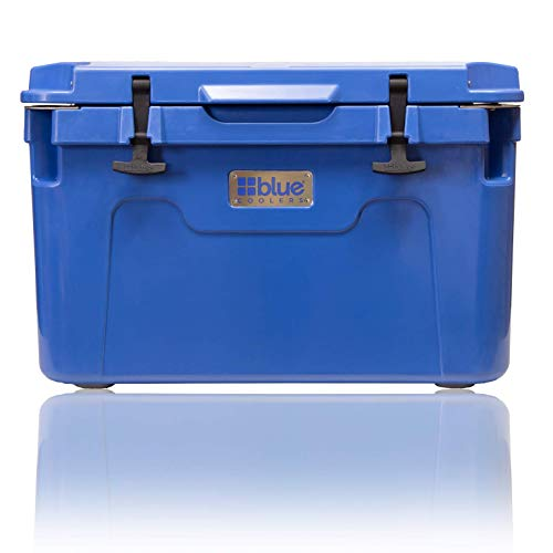 Blue Coolers Ice Vault – 55 Quart, Roto-Molded Ice Cooler - Large...
