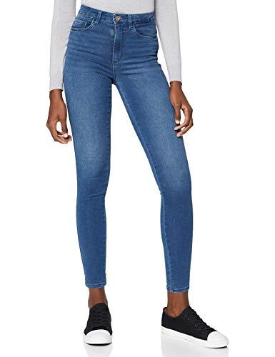 Only Damen Jeans Skinny REG soft , Blau (Medium Blue Denim), S/34