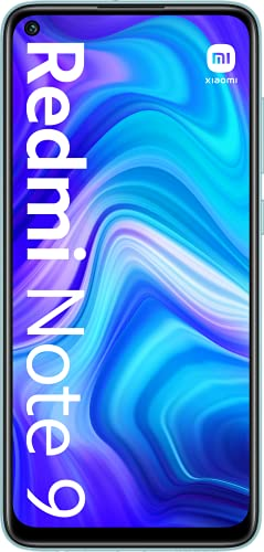 "Xiaomi Redmi Note 9 - Smartphone 3GB+64GB, NFC, Pantalla FHD+ de 6.53"" DotDisplay (Cámara cuádruple de 48MP con IA, MediaTek Helio G85, Batería 5020mAh), Blanco, Versión Oficial"