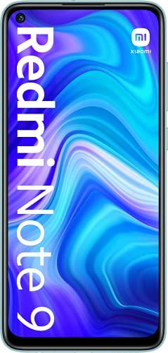 Xiaomi Redmi Note 9 - Smartphone 3GB+64GB, NFC, Pantalla FHD+ de 6.53' DotDisplay (Cámara cuádruple de 48MP con IA, MediaTek Helio G85, Batería 5020mAh), Blanco, Versión...