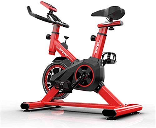 YLJYJ Upright Exercise Bikes Home Fitness Bike Cycling Bikes Indoor Exercise Bike Spinning Bike Domestic m Equ Home Fitness Equ Sport Bicycle spin bikection Home Spinning bikebic (Color : Red)