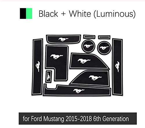 Bester der welt Ford Mustang 2015-2018, 6. Generation S550 Eco Boost Linfei rutschfeste Gummitürmatte…