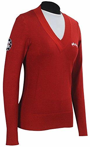 Patriot Slim Fit Damen Pullover – EC Red – S LD