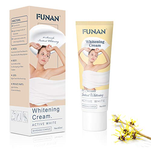 Whitening Cream Body Lightening Cream Effective Brightening Nourishing or Armpit, Knees, Elbows, Sensitive and Private Areas