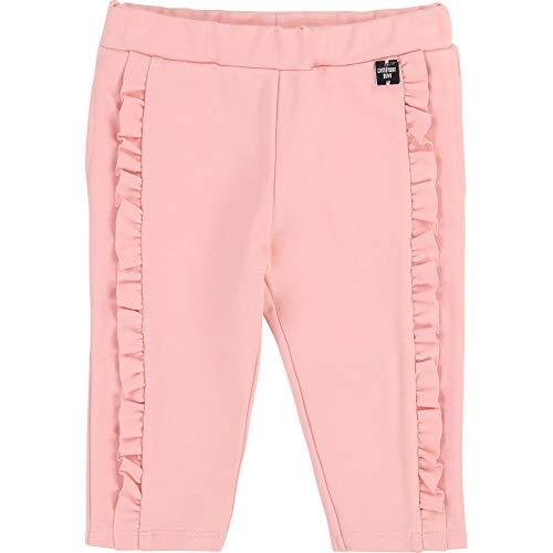 CARREMENT BEAU Pantalon en Milano Fantaisie Bebe Couche Rose Pink 9MOIS