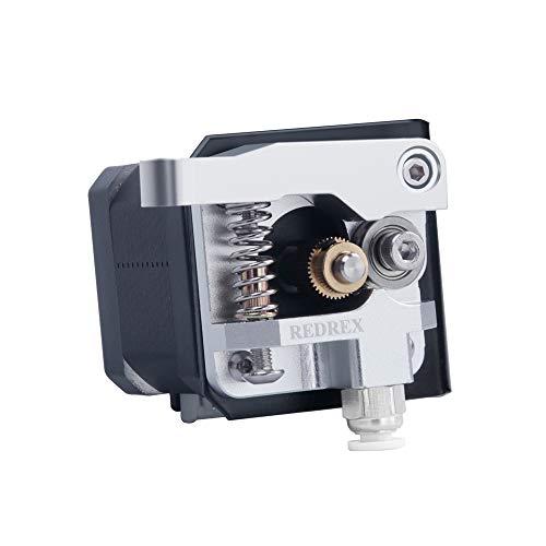 Redrex Extrusora de Metal Bowden, Tensión Ajustable, con Soporte de Motor Paso a Paso para ANYCUBIC Chiron,I3 Mega Impresoras 3D(Mano Izquierda)