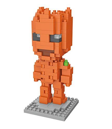Brigamo Blockheadz Guardians Super Heroes - Minifigura de Super Heroes (172 unidades)