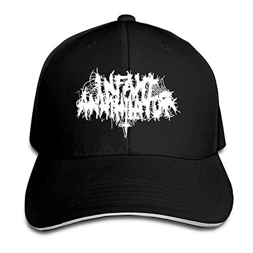 DJNGN Infant Annihilator Band Hut Unisex Sonnenschirm Caps Baseball Cap Verstellbare Hüte für Männer und Frauen