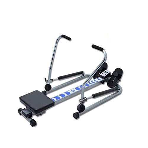 Rudergerät Haushalt Multifunktionale Endurance Stille Hydraulische Rudergeräte Indoor Bauch Chest Arm Fitnessgeräte geeignet for Fitnessübung HAOSHUAI