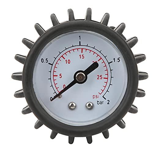 Barometer für Schlauchboote, Kompatibel Genaue Messung PVC-Manometer Lange Lebensdauer Leichtes Luftdruckmessgerät Barometer für Stützbretter