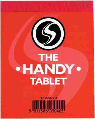 The Handy Tablet Notizblock, 6 Stück