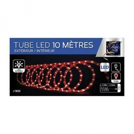 TUBE LED EXTERIEUR ET INTERIEUR 10 METRE ROUGE