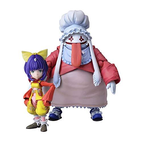 Squarenix Bring Arts Eiko Carol & Quina Quan Final Fantasy IX