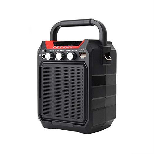 LYA draagbare Voce-versterker zonder fili, Mini Bluetooth luidspreker 4000 mAh High Power Full-range externe luidspreker TF Card ondersteuning