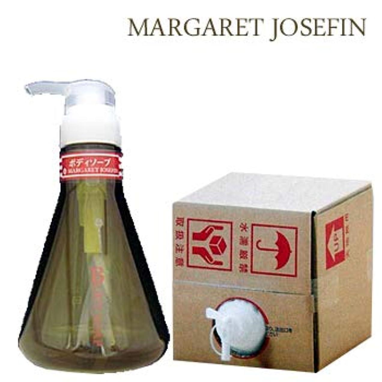 老人呼びかける効果的マーガレットジョセフィン 業務用ボディソープ ウッディ10L(1セット10L入)