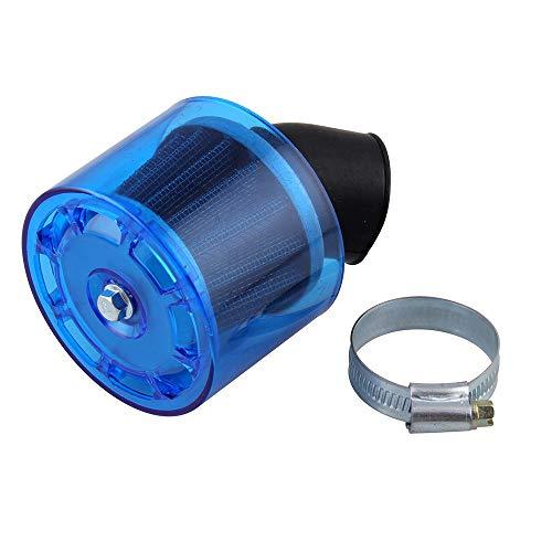 42 mm Filtros de aire para moto Qiilu Limpiador de filtro de aire Fibra de carbon 150cc-250cc