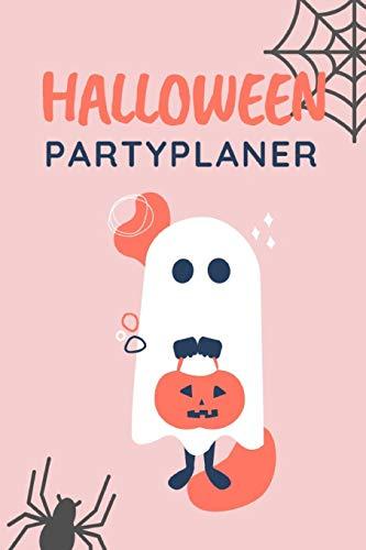 Halloween Partyplaner: Das Notizbuch für die Planung deiner Halloweenparty