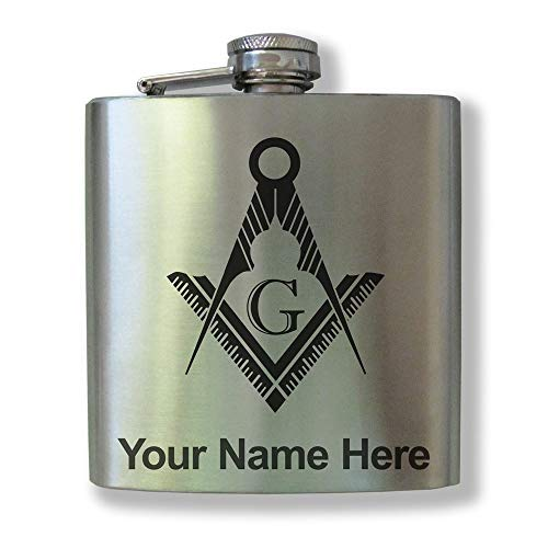 Freemason hip flask