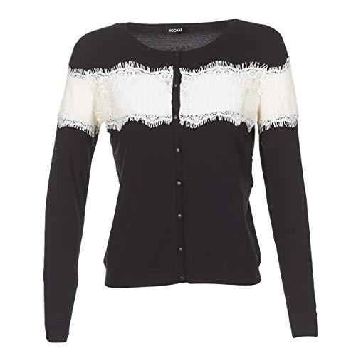Kookaï Margi Pullover & Strickjacken Damen Schwarz - EU S (T1) - Strickjacken Sweater