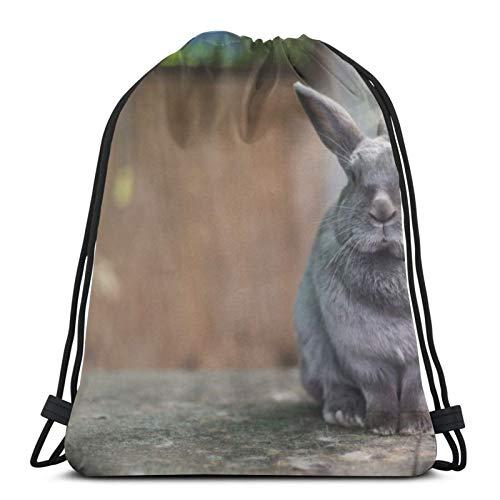 Perfect household goods Mochila ligera con orejas de conejo en jaula, para...