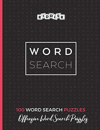 Offensive Word Search Puzzles
