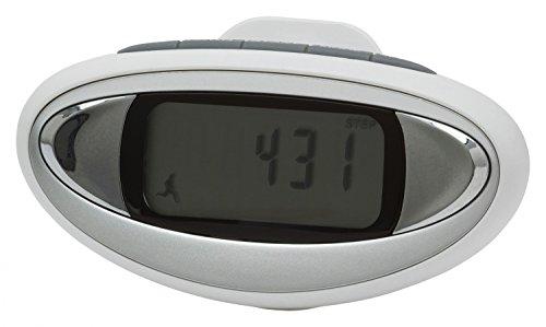Kasper & Richter Body Escort BMI Kilometerzähler Schrittzähler, Weiß, One Size