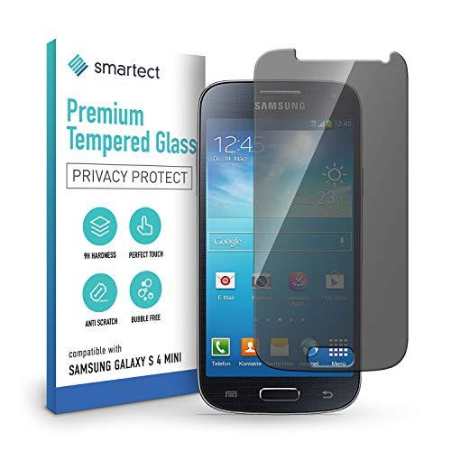 smartect Cristal Templado para Móvil Samsung Galaxy S4 mini [PRIVACIDAD] - Protector...