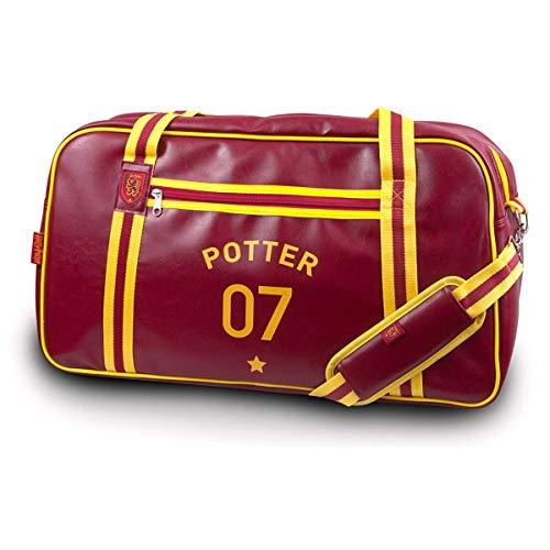 Groovy Harry Potter Quidditch Holdall, Rojo, Medium