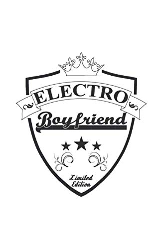 Electro Boyfriend Shield: Ruled Journal or Notebook (6x9 Inches) with 120 pages