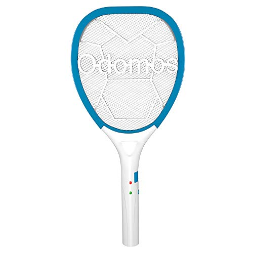 Odomos Mosquito Killer Racquet : Rechargeable 500 mAh Battery Insect Killer Bat with Led Light  Made in India (6 Months Warranty)