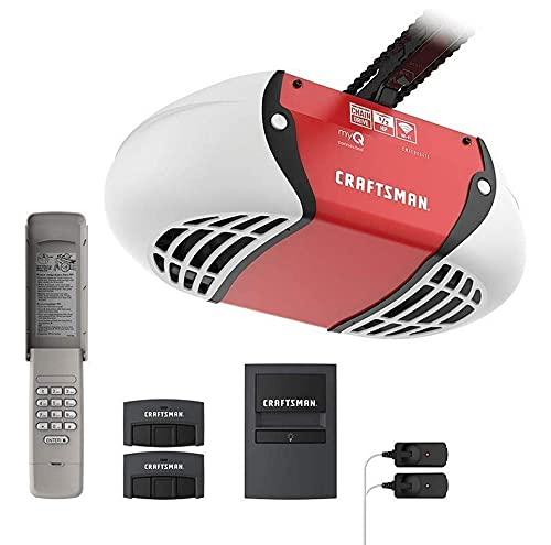 Craftsman CMXEOCG471 Garage Door Opener, Red