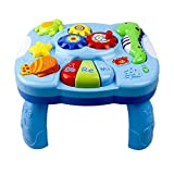 Baby Toys Musical Learning Table Early Development Activity Toy Lighting & Sound Musical Instrument Music Activity Center Game Table for Toddlers, Infant, Kids