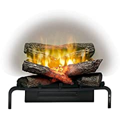 Innovative revillusion flame technology - larger & brighter flames Stunning flame effects perfectly mimic real flames Uses a projected flame effect onto specially designed mirage panel Heating coverage:- 400 square feet