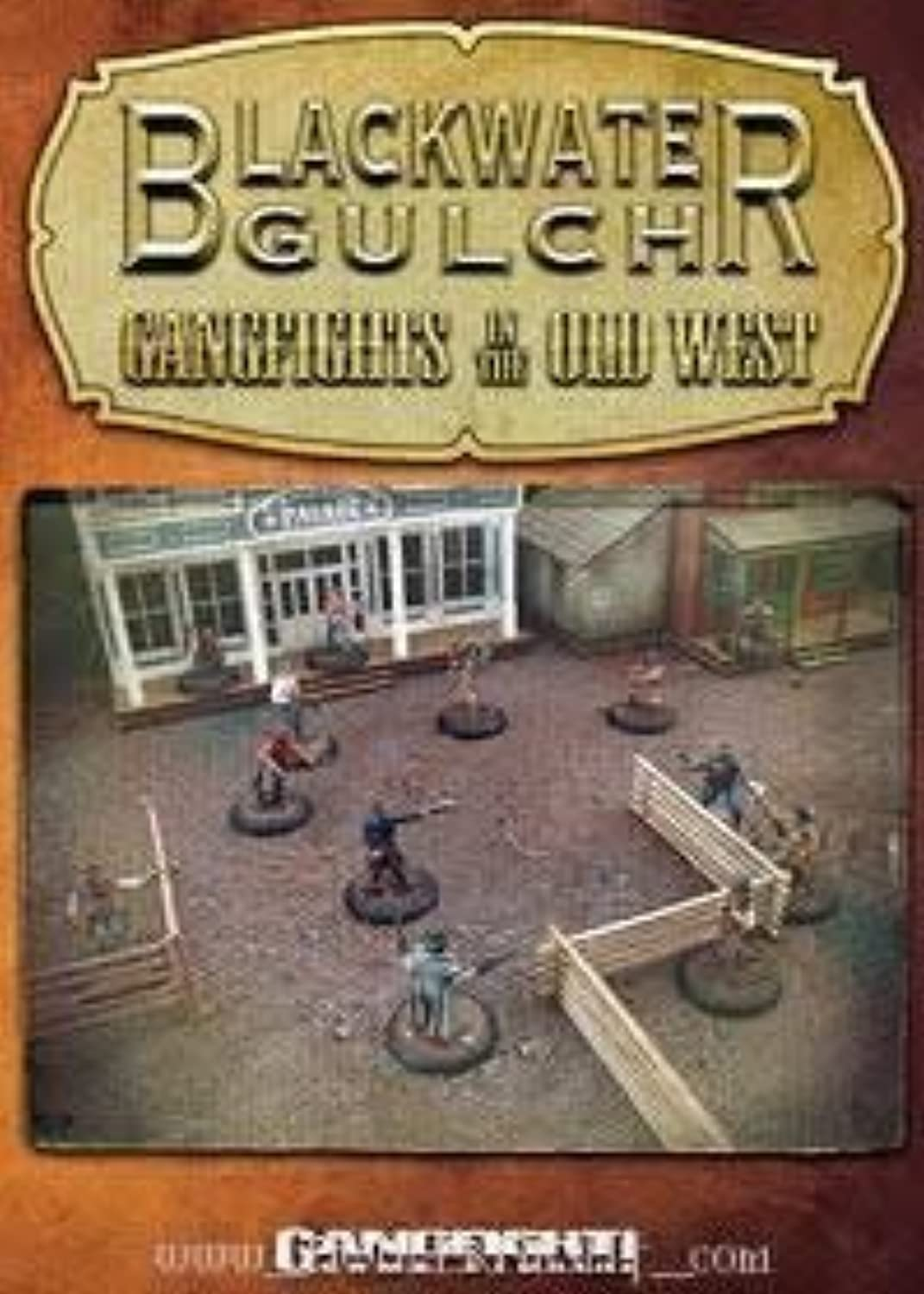 Blackwater Gulch Gangfights In The Old West Rulebook